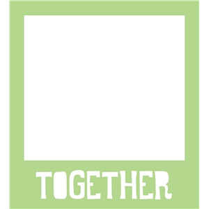 together polaroid phrase