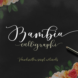 bambia calligraphy