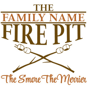 custom fire pit sign