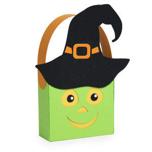halloween witch treat bag