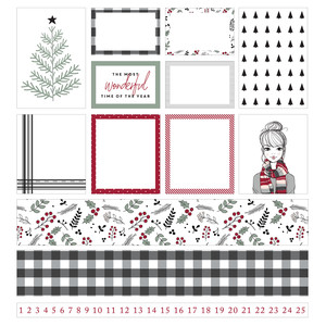 fj holly planner stickers