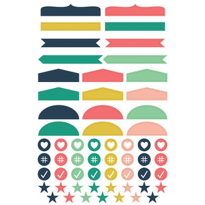 planner label stickers