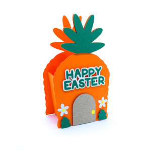 happy easter bunny house box