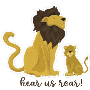 hear us roar lions