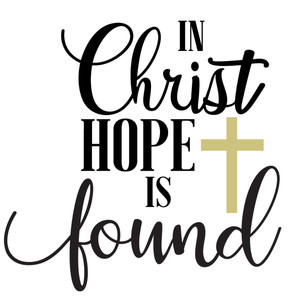 in christ hope found