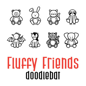 fluffy friends doodlebat