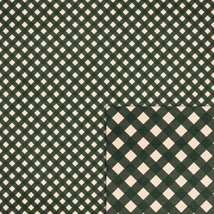 forest green gingham background paper