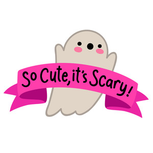 so cute it's scary ghost