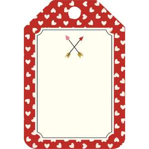 valentine arrow tag