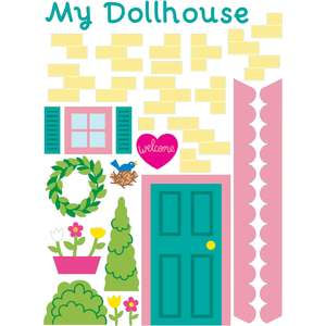 dollhouse stickers exterior