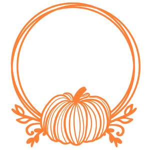 pumpkin wire frame