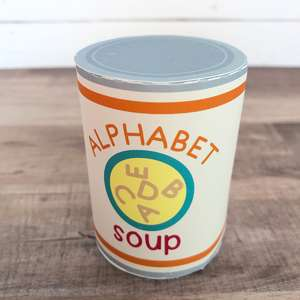 alphabet soup play food