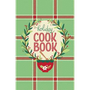 holiday cookbook cover page