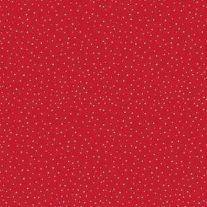 holiday red dot pattern