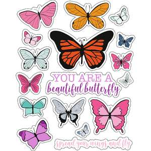 ml butterfly sweetly stickers