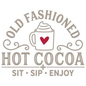 old fashioned hot cocoa