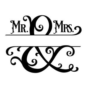 mr and mrs template