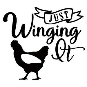 just winging it