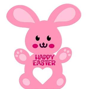 easter bunny egg holder card