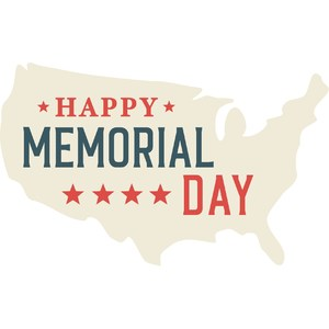 happy memorial day map