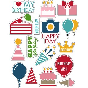 ml it's my special birthday stickers
