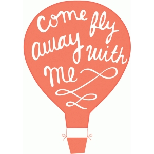 dear lizzy - come fly away balloon