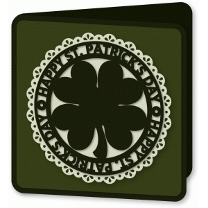 card - st. patrick's day