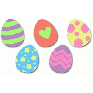 five easter eggs