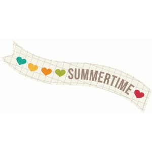 summertime hearts banner