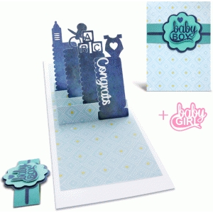 pop up card (baby)
