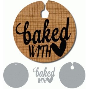baked with love tag set