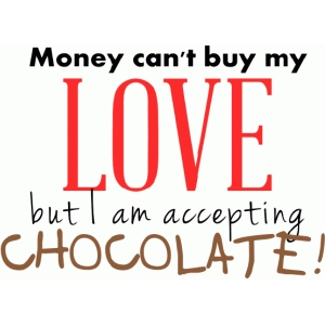 money cant buy my love