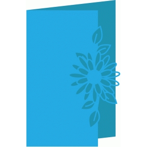 flower design card