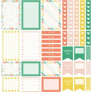 planner stickers | charlotte collection