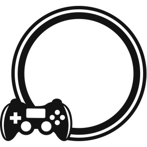 video game circle frame