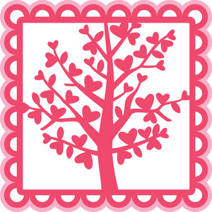 heart tree overlay