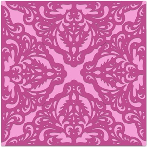 card wrap damask