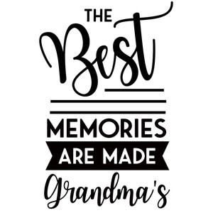 best memories at grandma's