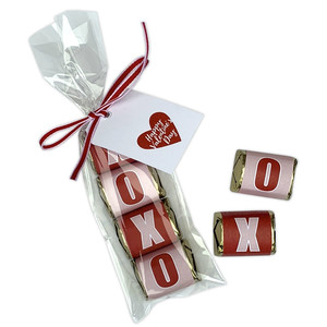 xoxo mini candy bar wraps
