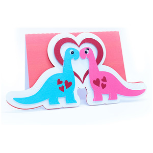 dinosaur love card