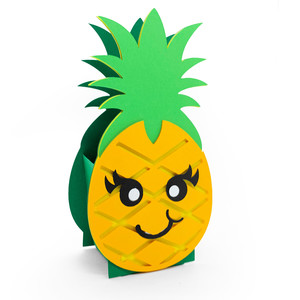 cute pineapple box