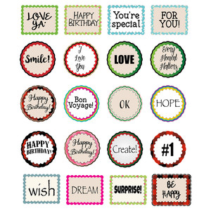 sayings planner stickers