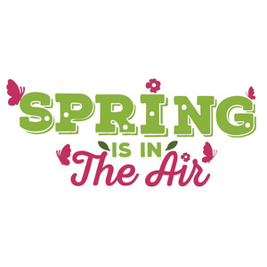 spring is on the air