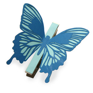 admirable coloring butterfly clothes pin