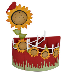 sunflower bendi card