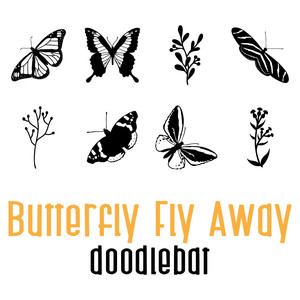 butterfly fly away doodlebat