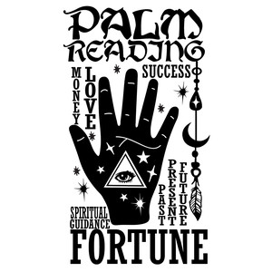 palm reading fortune teller