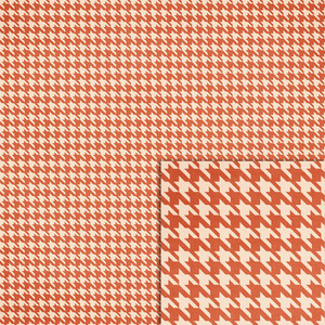 orange houndstooth background paper
