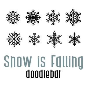 snow is falling doodlebat