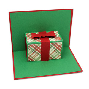pop-up present card